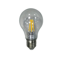 Energy saving lamp CE RoHS led light bulb A60 4w led filament lamp new products 2016