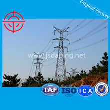 400KV Power Transmission Line Lattice Steel Tower