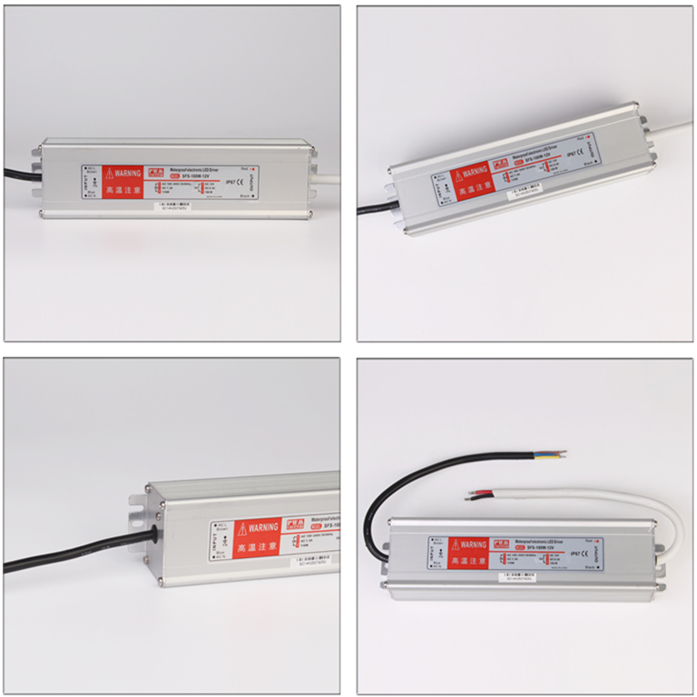 Meanwell 100w waterproof led driver ip67 Level waterproof power supply 230v 220v ac 24v dc transformer regulated led driver