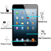 Tablet Screen Protector Anti-Shock Tempered Glass For Ipad Mini 4