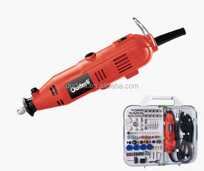 135w 161pcs Mail Order Portable Hobby Power Cut Off Saw Engraver Sander Polisher Drill Tools Electric Rotary Mini Grinder kit