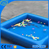 Blue Color floating inflatable boat swimming pool for inflatable pool toys