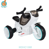 WDHC1388 China Factory Hot Sale Cheap Very Cool Children Ride On Toy Kids Electric Motorcycle Bike For Child Garden Line Battery