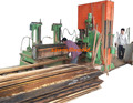 Sawmill-world CNC Vertical Bandsaw Machine 40 Inch for Log Cutting