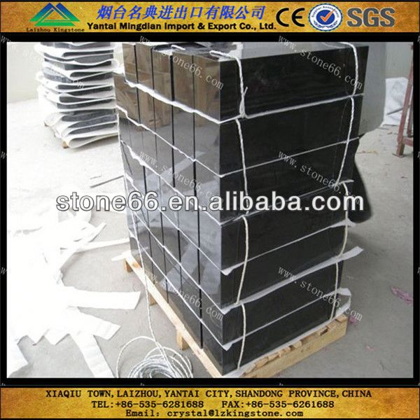 Professional manufacture granite tiles 60x60 black galaxy