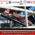 Backward Hydraulic Unloading Platform