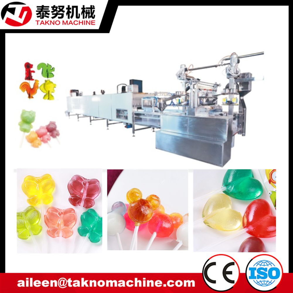 Complete Lollipop Candy Making Machine