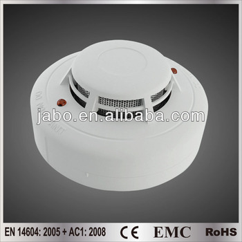 Conventional photoelectric smoke detector, CE approved
