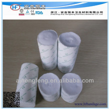 Orthopedic Fiberglass Bandages,Good Permeability Of Medical Casting Pad with Single Packing