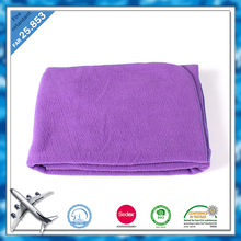 BSCI and SEDEX certisfied China factory wholesale soft well polar fleece snuggle airline blanket