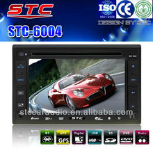 Touch Screen Car DVD Player with GPS Navigation/Bluetooth/TV/Ipod /Iphone/Radio/Rearview/USB charger.STC-6004