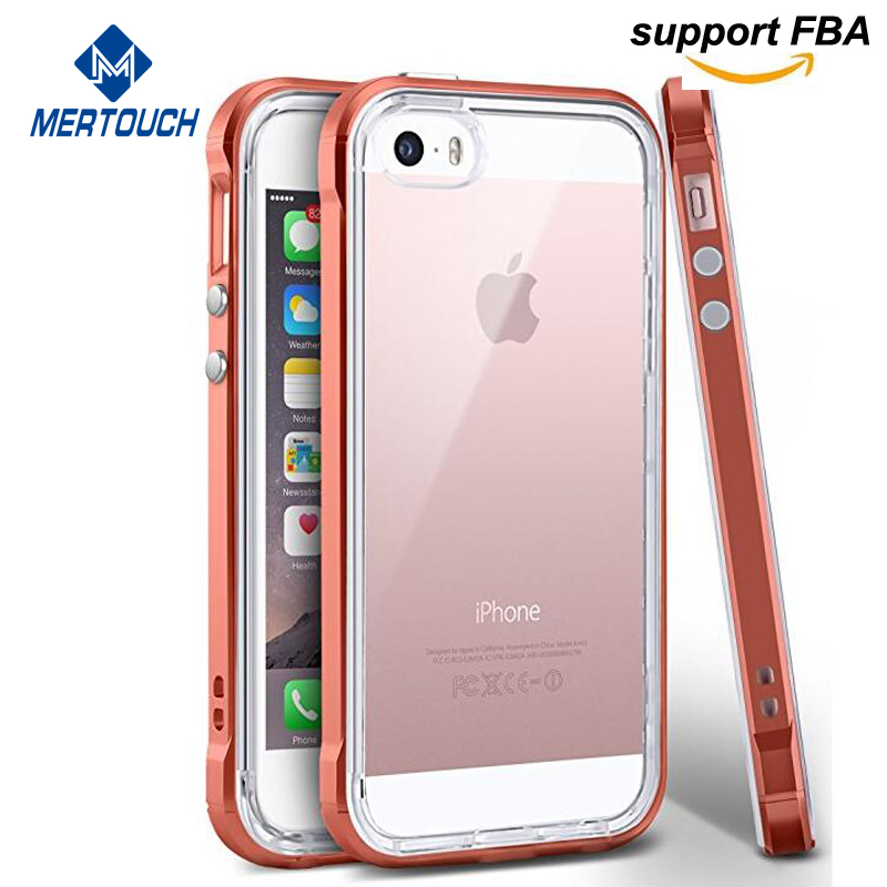 for iphone SE case clear soft rubber soft TPU bumper flip leather cover card holder cell phone cases for iphone 5 5s