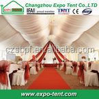 15m span outdoor aluminum big wedding tent with linings