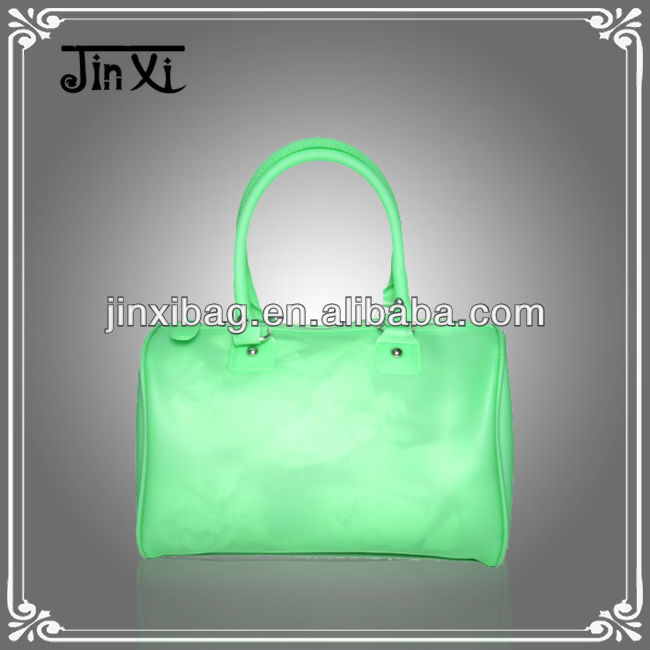 Wholesale jelly candy color bag cheap beach bags