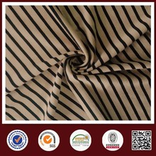 Feimei poly stretch stripe knitted fabric stripe denim fabric wholesale