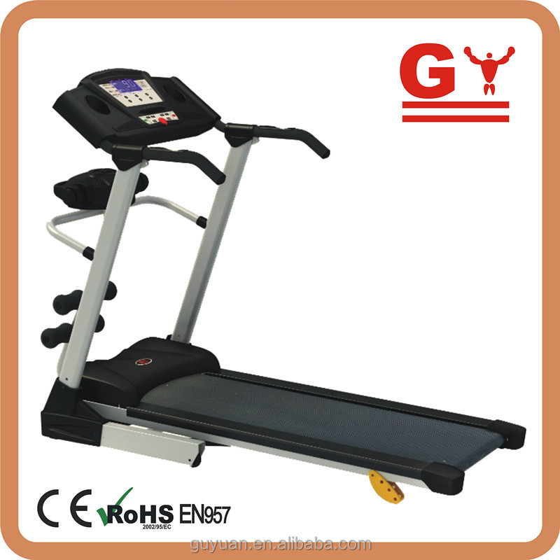 simple homeuse treadmill cheap model with power incline with multi-function