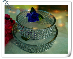 hot sale crystal cake stand for wedding decoration or wedding centerpieces