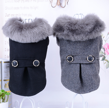 High grade pet products pure color autumn and winter clothes small dog sweater supplies