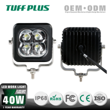 High quality factory price 4 inch cube 40w flood&spot beam led work light,ATV UTV trucks working light