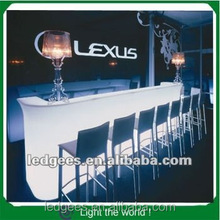 bar counter, Led Light bar furniture bar counters design, led plastic bar counters