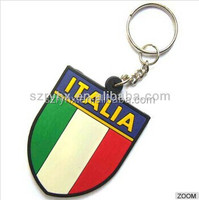 Promotional gifts customized remove before flight keychain, custom colorful cute pvc/rubber keyring