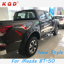New style Car 4x4 accessories durable abs plactic injection fender flare for Mazda BT-50
