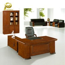 Office Hotel Home Eco-friendly latest wooden long office boss table design