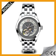 New Products Oversize Bezel women a charming Wrist Watch Casual stainless steel hour clock