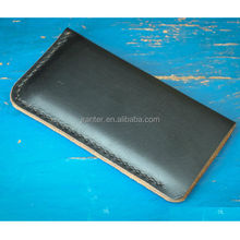 Hot New Products for 2015 Calfskin Pouch, Leather Cover Smartphone Wholesale