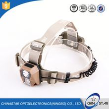 Long Quality Warranty customizable oem flashlight uv led headlamp