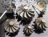 nickel alloy parts turbine wheel casting