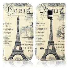 For S5 Mini Case, Samsung Galaxy S5 Mini Mobile Phone Case Hot Luxury PU Leather Magnetic Flip Wallet Stand Cover