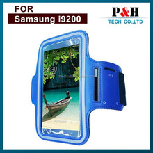 Waterproof Case for Samsung Galaxy Mega 6.3'' I9200S Note 2 N7100 With Armband Strap