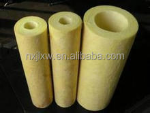 rockwool pipe rigid duct insulation rock wool tube