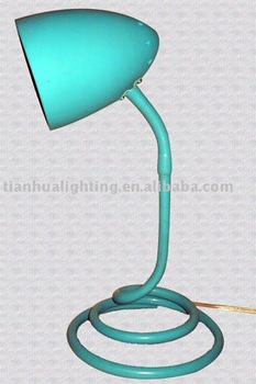 Silicon desk lamp with Snake design