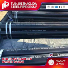 tube videos astm a106 gr.b schedule 80 black / galvanized seamless carbon steel pipe price