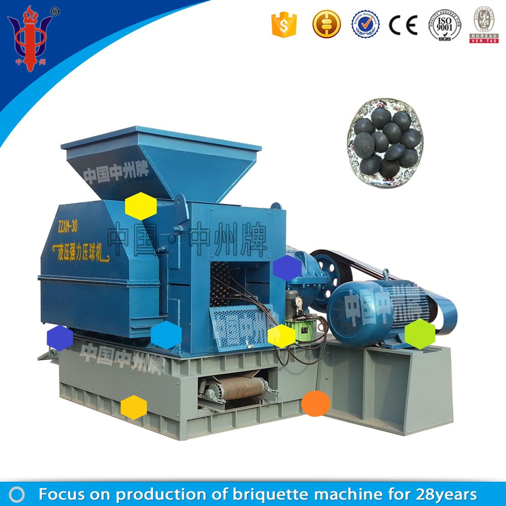 iron scrap briquette machine worked in Europe