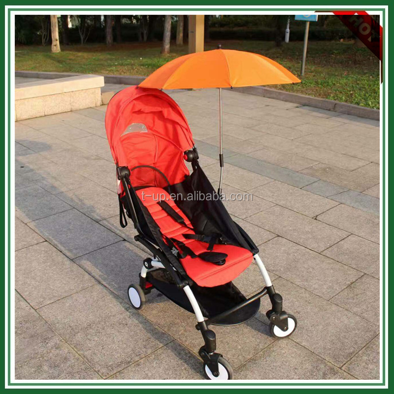 Cheap fixed baby car umbrella for travel, easy removable car umbrella