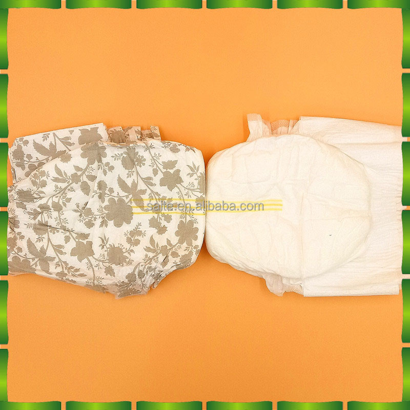 Pure natural healthy materials baby adult diaper manufacturer