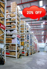 Logistics equipment and heavy weight warehousing storage wire decking pallet rack made in China on discount