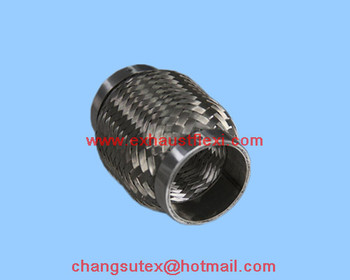 51X100mm exhaust flex Section Coupling with inner braid
