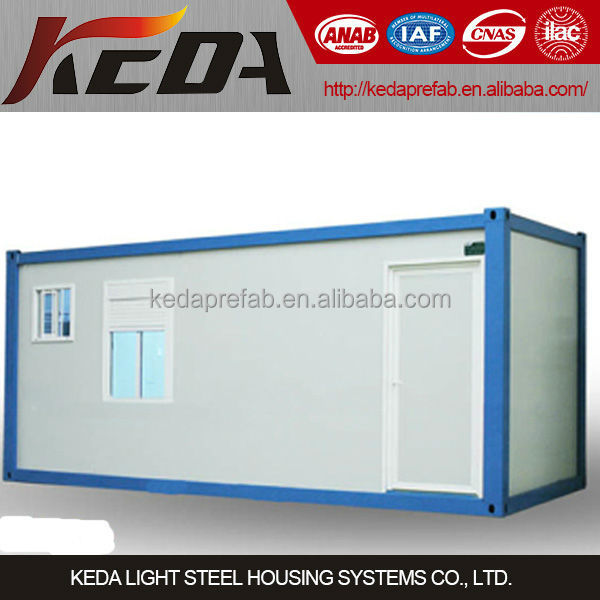 Factory Ready Made Steel Structure Prefabricated Container Home Camp House