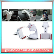 smartphone cradle windshield car holde ,H0T053 mobile phone mount for car , air vent car mount