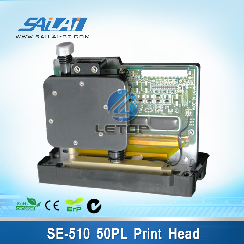 Large Format Inkjet Printer spt510 50pl head for seiko spt510 print head crystaljet printer