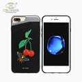 2017 Popular embroidery design case original for iphone 6 apple case soft tpu hard