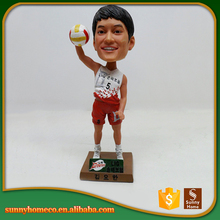 Factory OEM 3d Resin Custom Bobble Head For Sport Souvenir