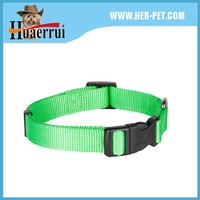 Professional factory high quality plain color carabiner dog collar&leash