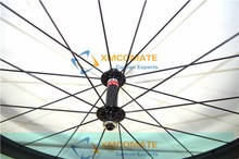 Chinese Bike Wheel Carbon Road wheels Bicycle Wheelset 38mm Clincher Or Tubular Powerway R13 Hub/XMCOMATE