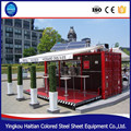 Luxury 20ft 40ft container rooms for salemodern outdoor kiosk house for coffee shop
