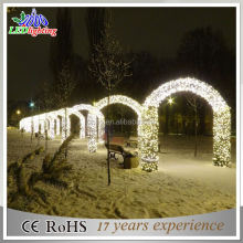 New christmas Outdoor LED arch motif lights decorative light IP65
